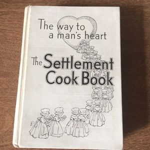 """Other - Vintage """"The Way to a Man's Heart"""" cookbook"""